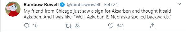 rainbw rowell
